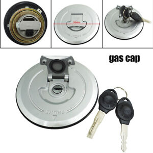96MM Aluminum Modified Motorcycle Bike Fuel Gas Tank Cap Lock w/ Key Universal