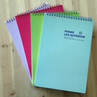 5x mini Notizbuch Schule Notizen Skizzen Tagebuch Geschenk 3#ed de U9O1