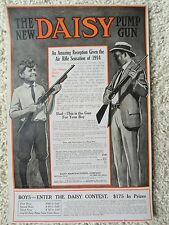 Daisy Air Rifle,BB Gun Advertising Poster,1914