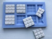 War Cobble Paving Casting mould for wargame scenery and building terrains WG14