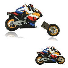 Hot Cartoon Motorrad 8GB Bulk-USB Flash Drive Motor USB-Sticks