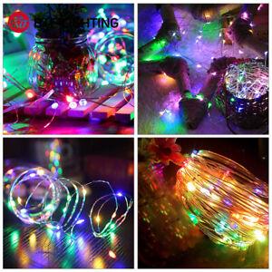 5/10M WS2812B RGB Dream Color Xmas LED Fairy String Light Power Controller Sets