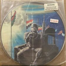 "IRON MAIDEN 2 Minutes To Midnight 1984 UK 12"" PICTURE DISC Metal PROMO"