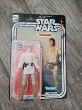 star wars 40th anniversary black series luke skywalker unopened 100% complete
