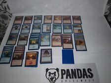 MtG Magic the Gathering blau rotes Elemental Deck