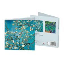Vincent Van Gogh Square Set of 8 Art Notecards Wallet