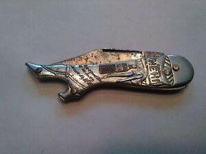 VINTAGE REMINGTON  NEHI ADVERTISING KNIFE (SHAPE OF LEG