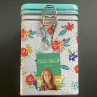 The Pioneer Woman Birthday Floral Hinged Lock Top Tin Canister