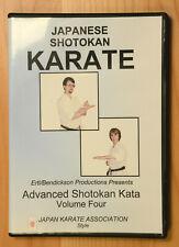 Japanese Shotokan Karate Advanced Kata Vol. 4 Dvd (Ertl/Bendickson)