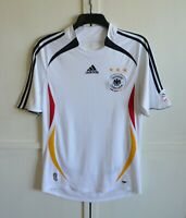 GERMANY 2005/2006/2007 HOME FOOTBALL SHIRT JERSEY TRIKOT ADIDAS SIZE M excellent