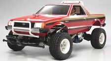 Tamiya 58384 1/10 RC Car 2WD Pick-Up Truck Kit Subaru Brat w/ESC & 2Bodies