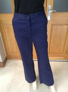 Navy elasticated trousers ideal, Nurses, healthcare, Vets, Care home Free P+P