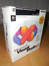 Microsoft Visual Studio 6.0 6 Professional Basic FoxPro C++ 659-00390