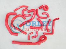Red Radiator Silicone Hose Skyline R33 R34 GTR RB26DET For Nissan Heater