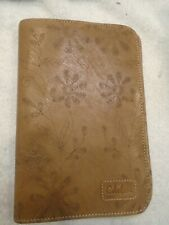 Cole Haan Leather Kindle Tablet Cover NIB Floral Design with Hinge