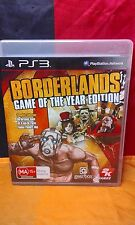 Borderlands: Game of the Year Edition - Sony PS3 PAL - Manual Included