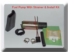 E2068 Fuel Pump W/ Strainer & Install Kit For Ford Licoln Madza Mercury & Nissan