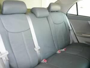 XA XB TC Im FR-S 2004-2017 Black Clazzio Synthetic leather seat covers kit Scion