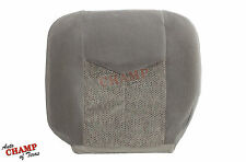 2006 Chevy Silverado 1500 2500 HD LS LT-Driver Side Bottom Cloth Seat Cover Gray
