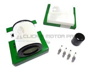 Oil Air & Cabin Filter 4 Spark Plugs Service Kit For Honda CR-V 2.0 Mk2 02-06