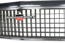 Holden HZ NEW Chrome / Grey Grille Also Fit HJ HX