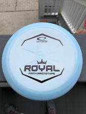 New Latitude 64 Disc Golf Royal Faith Prototype Putter