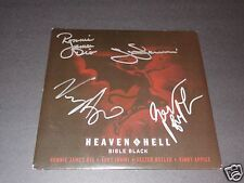 "Black Sabbath Signed 7"" Vinyl Ronnie James Dio Tony Iommi Geezer Heaven And Hell"