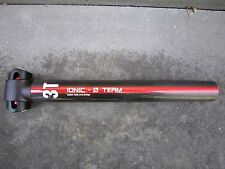 3T IONIC CARBON SEATPOST.31.6mm.ZERO OFFSET.SUPERLIGHT.EXCELLE COND.COST:$220NEW