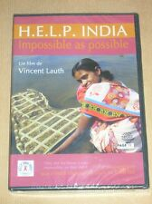 DVD DOCUMENTAIRE RARE / HELP INDIA / VINCENT LAUTH / NEUF SOUS CELLO