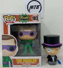 FUNKO POP HEROES BATMAN THE RIDDLER 183 PENGUIN DORBZ non chase no the joker