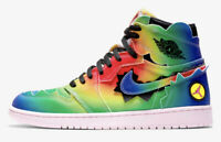 'Brand New' Nike x J Balvin Air Jordan 1 Retro High Rainbow Size 7.5 From Japan