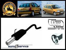 SILENCIEUX POT D'ECHAPPEMENT RENAULT CLIO II 1998-2002 2003 2004 2005 TIP 80
