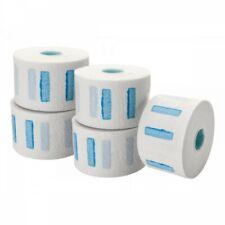 BARBER SALON DISPOSABLE WATERPROOF ELASTIC NECK PAPER ROLLS *5x100*