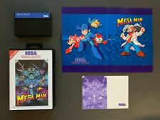 MEGAMAN SEGA MASTER SYSTEM HACK FROM GAME GEAR RARE - EXCLUSIVE ARTWORK!