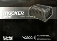 NEW Kicker 12PX200.1 Compact Monoblock PowerSports Car Stereo Amplifier PX200.1