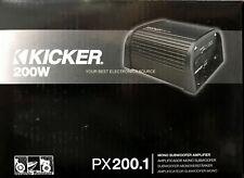 Nuevo Kicker 12PX200.1 Compacto Monobloque Powersport Coche Amplificador Estéreo