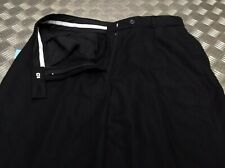 Genuine British 100% Wool EX-Police Issue Trousers / Bobby Old Bill Retro  NEW
