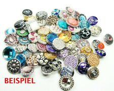 Click Button Klicks 18 bis 20mm -   50 Stück !! - TOP - kompatibel Chunk-System