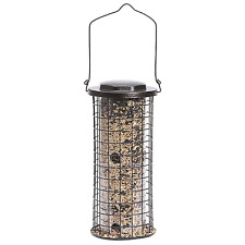Perky-Pet 114 Durable Squirrel Stumper Wild Bird Feeder, 5 Lbs Seed