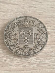 5 Francs Louis Xviii 1823MA