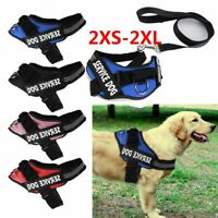 Adjustable Dog Pet Vest Harness + Leash Nylon XXS/XS/Small/Medium/Large/XL XXL