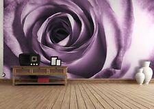 Mural De Papel Foto Rosa Púrpura Pared Decoración Papel Poster Gigante De Flor De Ideas