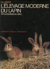 L'Elevage Moderne du Lapin - G. Lissot - Sommaire Dedans