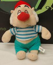 """Disney Peter Pan Pirate 12"""" Plush Toy Red Nose"""