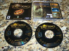 Lord Of The Rings Fellowship Of The King (PC, 2002) Game
