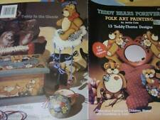 Teddy Bears Forever Folk Art Painting Book -13 Designs By Jackie Cole