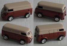 Johnny Lightning – VW T1 Transporter rotbraunmet./creme