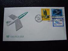 NATIONS-UNIES (new-york) - enveloppe 1er jour 17/6/1963 (B4) united nations