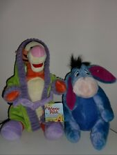 3 Collectible Disney Plush Toys, Eeyore and Tiggers