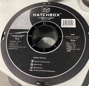 HATCHBOX PLA 1.75 mm 3D Printer Filament in Silver, 1kg Spool
